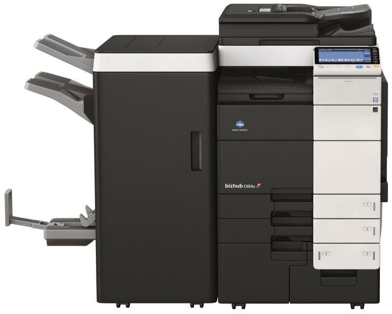 c754 print shop color production copier with folding,scanner,printer,fax,hole punch